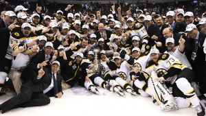 Les Bruins de Boston Champions NHL