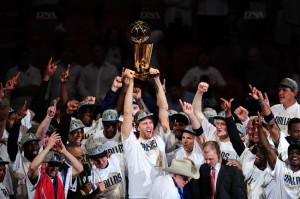 Les Mavericks Champions NBA